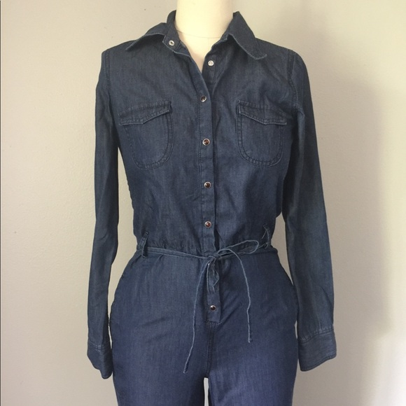 d40256b6a3f Spoon Jeans Denim Jumpsuit Size 3